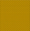 Free Brick Wall Testure Yellow Color Isolated Stock Images - 21901064