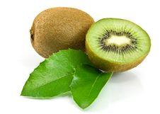 Free Kiwi Fruit On White Background Royalty Free Stock Images - 21904579