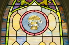 Free Religious Stain Glass Window Stock Photos - 21905483