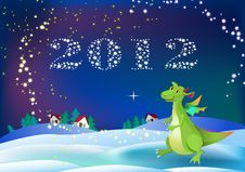 Free Dragon New 2012 Year Symbol Stock Photos - 21907523