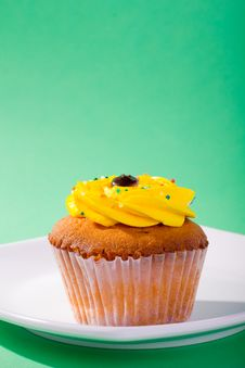 Free Cupcake Royalty Free Stock Photography - 21907797
