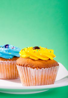 Free Cupcake Royalty Free Stock Photo - 21907845