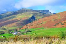 Free Cumbrian Mountain In Autumn.. Stock Image - 21909041