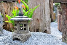Free Stone Lantern Stock Photos - 21910233