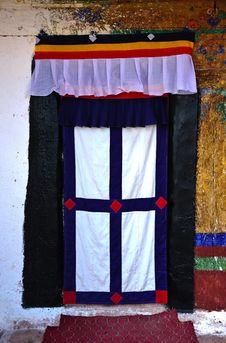 Free Tibetan Doorway Stock Images - 21910534