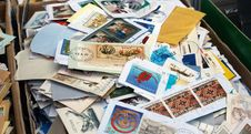 Free Postage Stamps. Stock Photo - 21910550