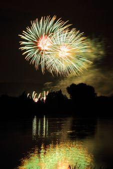 Free Celebration Fireworks Stock Photo - 21912240