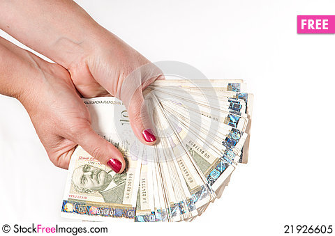 Free Bulgarian Currency Royalty Free Stock Photo - 21926605