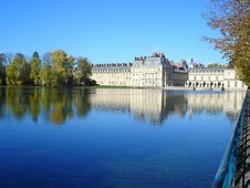 Lake Of Fontainebleau Stock Images
