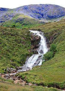 Rocky Waterfall. Stock Image