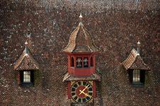 Free Roof Clock Stock Photos - 21928623