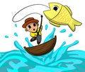 Free Fisherman Royalty Free Stock Photos - 21936888