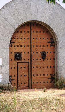 Free Church Doorway Royalty Free Stock Photo - 21933175