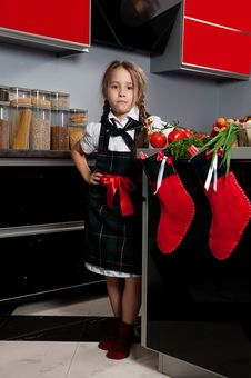 Free Little Cook Royalty Free Stock Photography - 21934407
