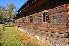 Surdesti Wooden Church Stock Photo