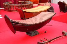 Free Traditional Thai Musical Instruments Stock Photo - 21935510