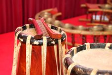 Free Traditional Thai Musical Instruments Royalty Free Stock Images - 21935529
