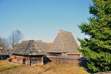 Free Transylvania Old Houses Royalty Free Stock Photos - 21936468