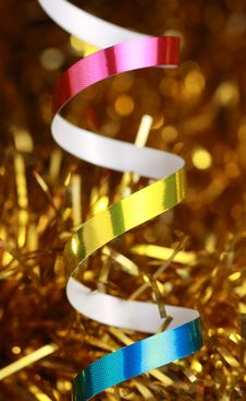 Free Christmas Ribbon Royalty Free Stock Photo - 21936515