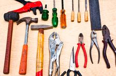 Free Hand Tools. Stock Images - 21937754
