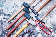 Free Hand Tools. Royalty Free Stock Images - 21937819