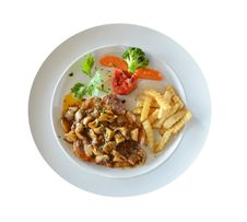 Free Beef Steak Stock Image - 21938471