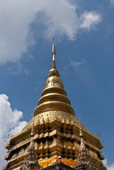 Free The Golden Pagoda. Stock Image - 21939401