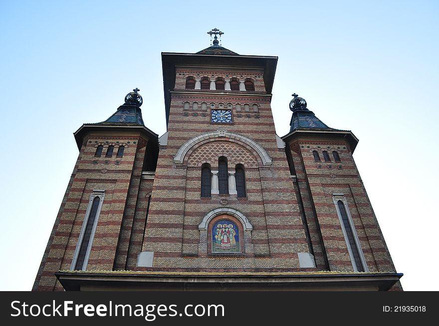 Ortodox cathedral in Timisoara.