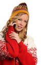 Free Young Woman On The Cell Phone Stock Image - 21945441