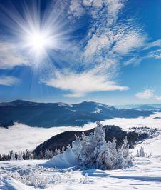 Free Winter Landscape Stock Photos - 21940313