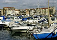 Free Row Of Pleasure Boats Stock Image - 21941401