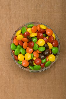 Free Colorful Chocolate Candy Stock Images - 21945074