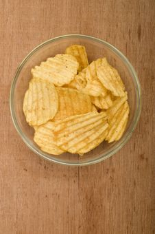 Free Potato Chips Stock Photo - 21945110