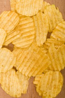 Free Potato Chips Royalty Free Stock Photography - 21945117