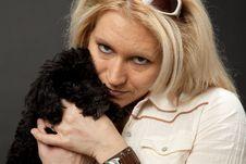Free Puppy Love Royalty Free Stock Photos - 21945558