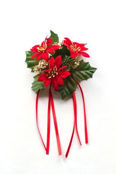 Free Christmas Wreath Royalty Free Stock Photography - 21946237