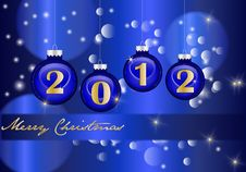 New Year Abstract Background Royalty Free Stock Images