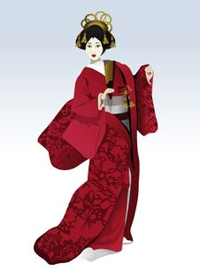 Free Slender Japanese Royalty Free Stock Photos - 21949238