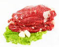Free The Pieces Of Raw Fillet Steaks Stock Photo - 21953640