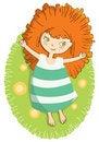 Free Sunny Girl Royalty Free Stock Photo - 21958625