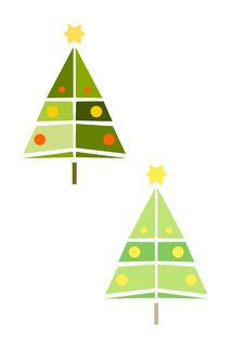 Free Christmas Tree Royalty Free Stock Image - 21950006