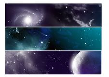 Free Banner Set Royalty Free Stock Images - 21953419