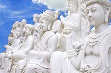 Free Chinese Buddha On Heaven Stock Photo - 21953480
