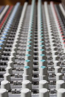 Free Audio Mixer Stock Photo - 21958830