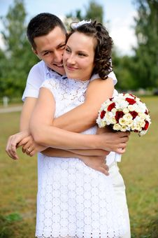 Free Portrait Of A Happy Couple Stock Photo - 21960090