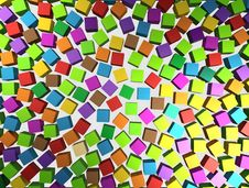 Free Abstract Background - Different Color Cubes Royalty Free Stock Photo - 21961895