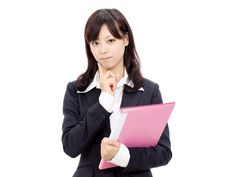 Free Young Asian Businesswoman Royalty Free Stock Image - 21964916