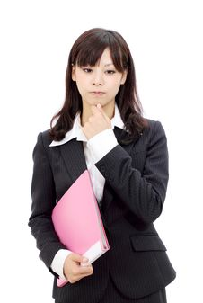 Free Young Asian Businesswoman Stock Photos - 21964923
