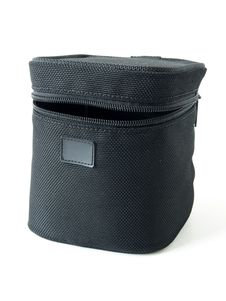 Free Black Canvas Lens Box Stock Image - 21971321