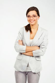 Free Young Confident Businesswoman Royalty Free Stock Photos - 21973928